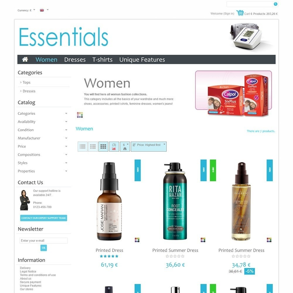 theme - Health & Beauty - Essentials - 3
