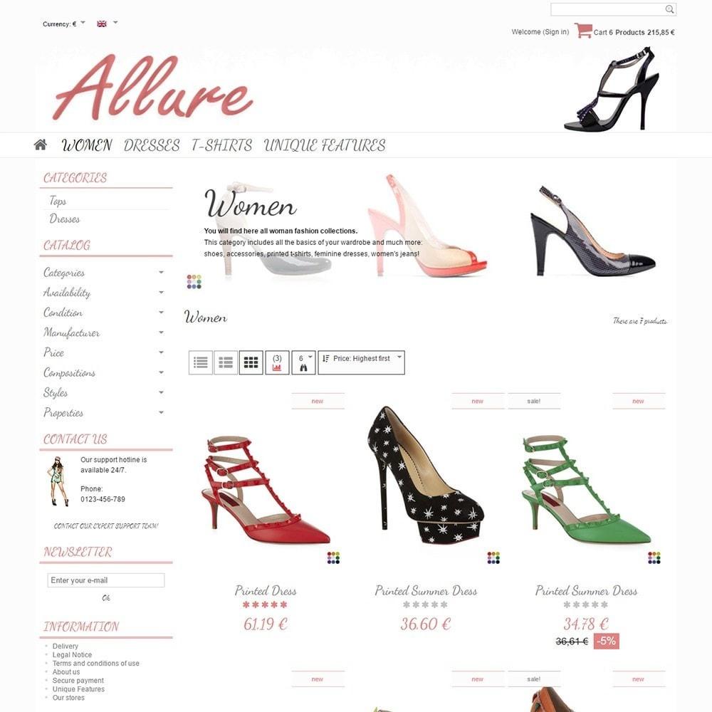 theme - Moda & Calçados - Allure - 3
