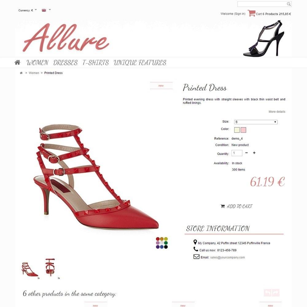 theme - Moda & Calçados - Allure - 4
