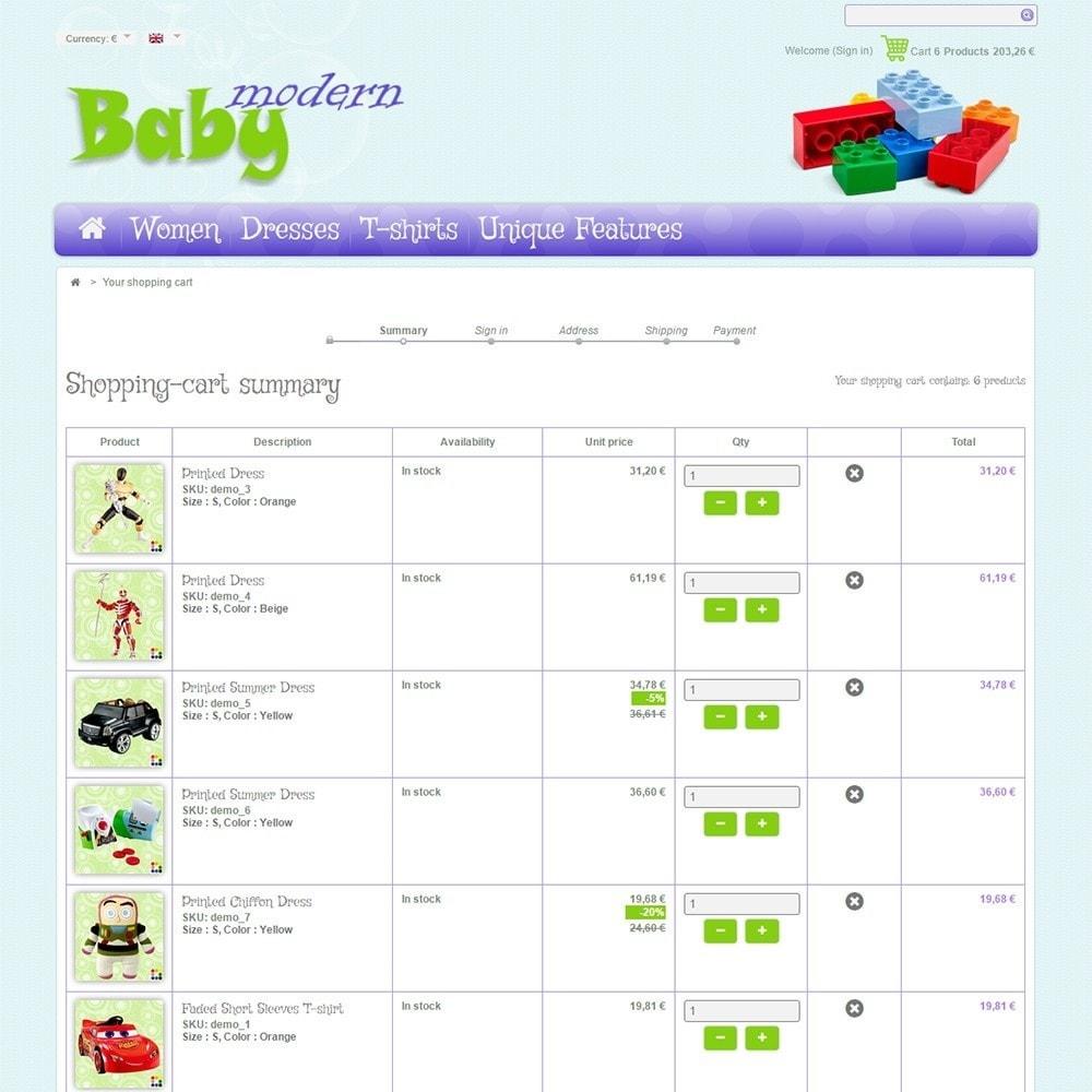 theme - Дети и Игрушки - Modern Baby - 5