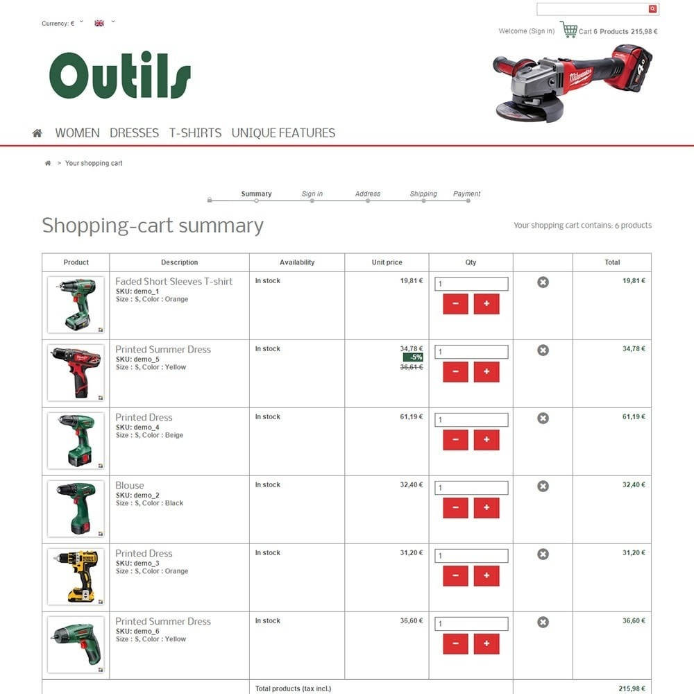theme - Huis & Buitenleven - Outils - 5