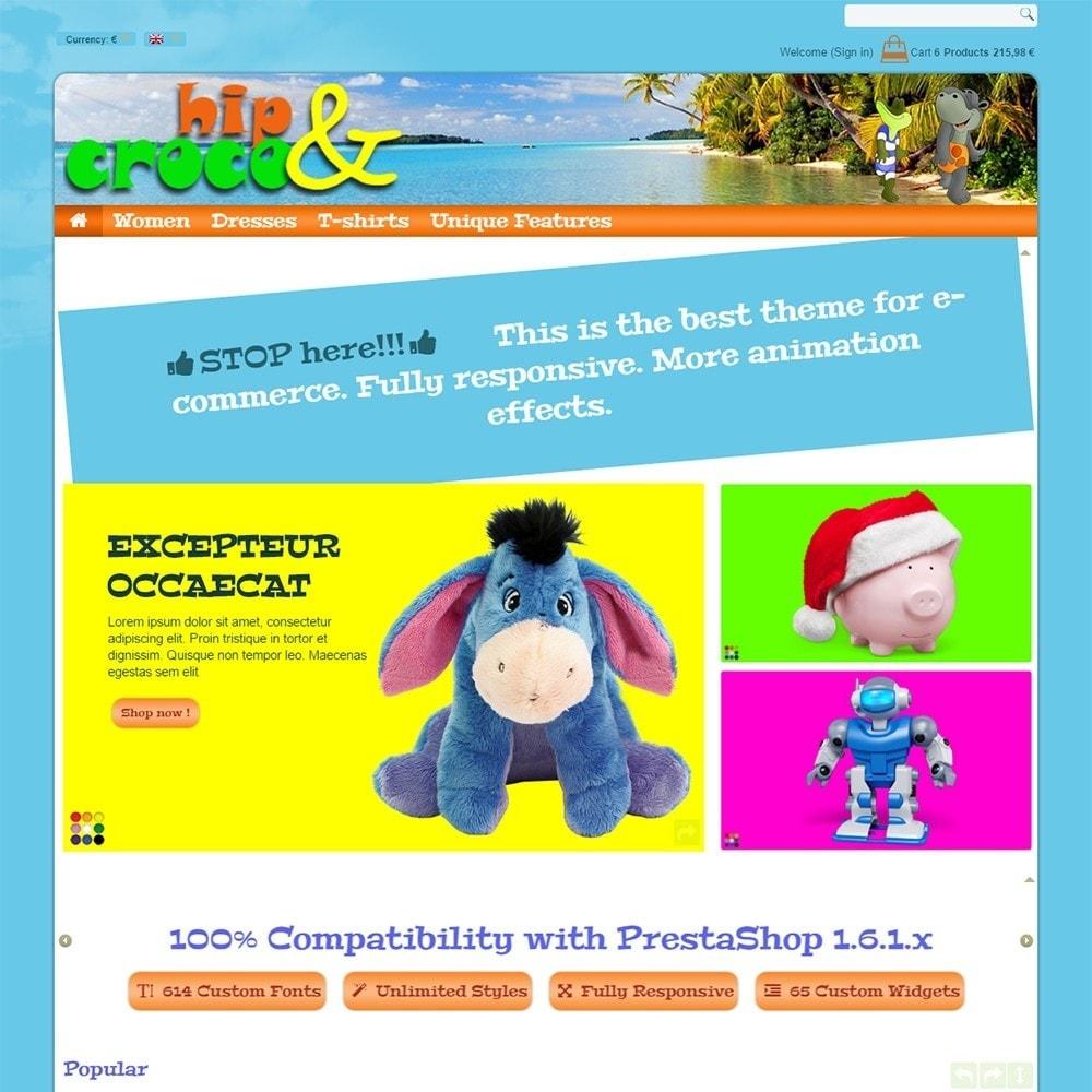 theme - Kids & Toys - Hip And Croco - 3