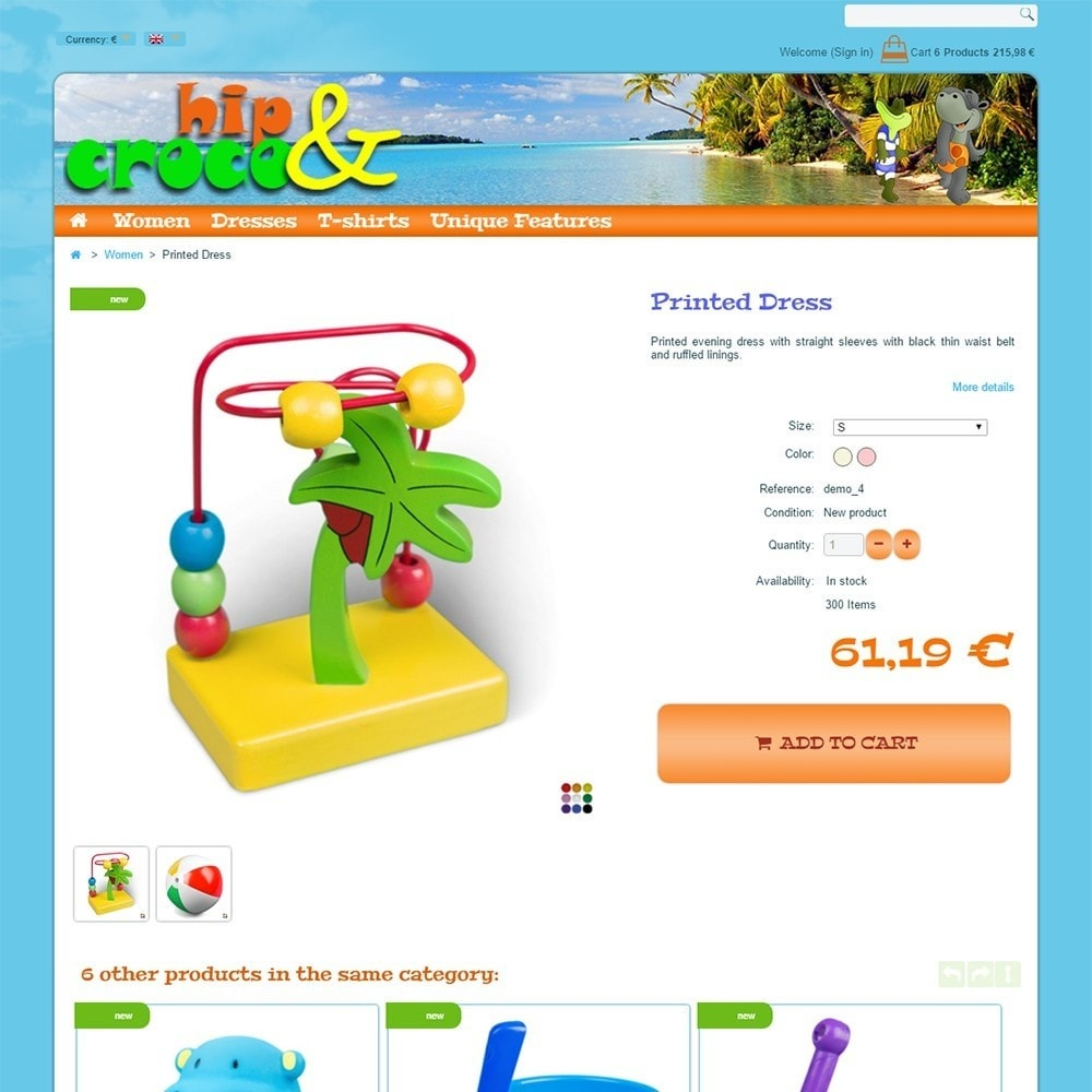 theme - Kids & Toys - Hip And Croco - 5