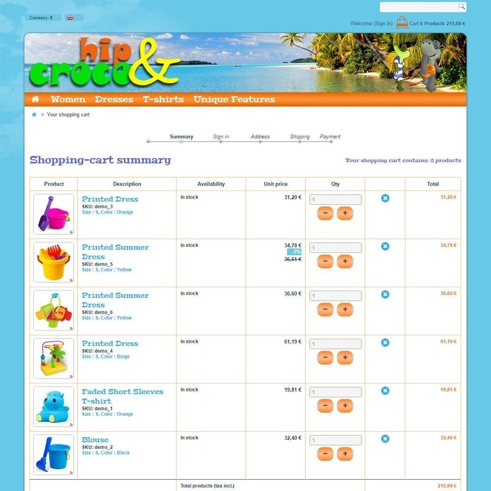theme - Kids & Toys - Hip And Croco - 6
