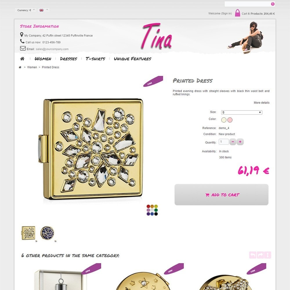 theme - Jewelry & Accessories - Tina - 5