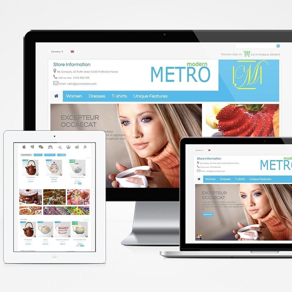 theme - Moda y Calzado - Modern Metro - 1