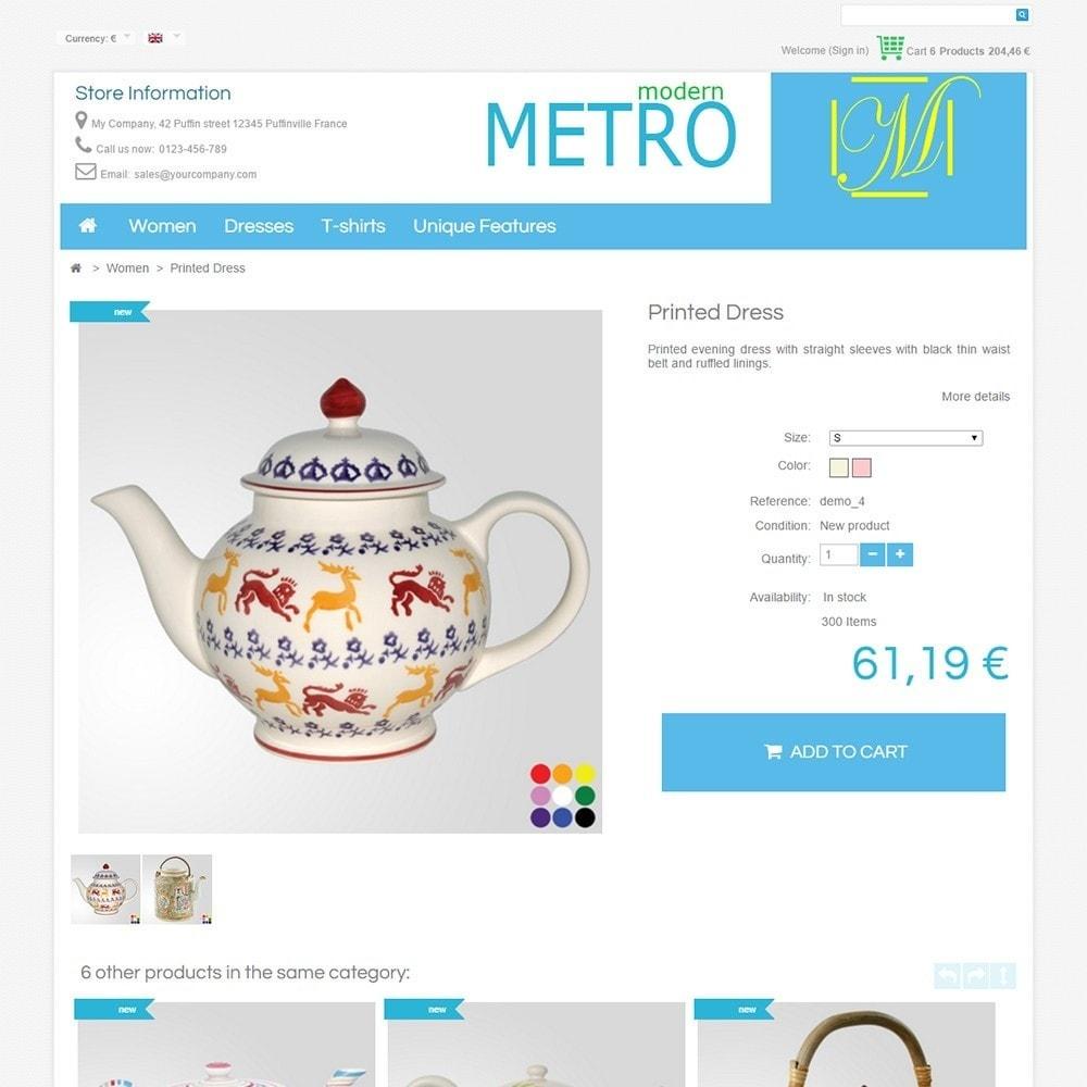 theme - Мода и обувь - Modern Metro - 5