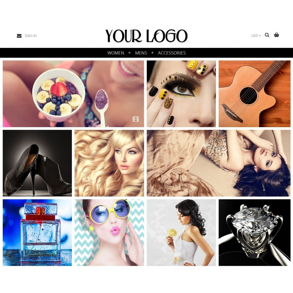 theme - Moda & Obuwie - Nimble Grid Theme - 1