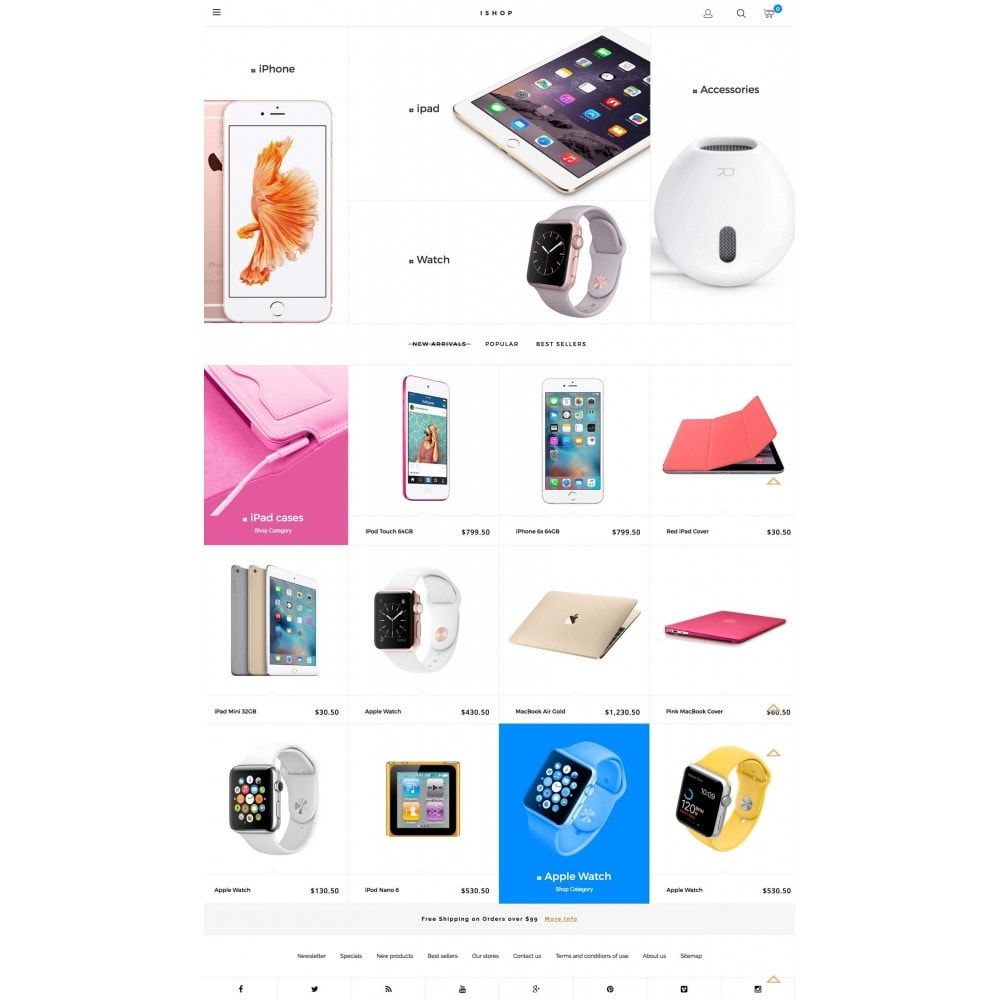 theme - Elektronika & High Tech - iShop - 2