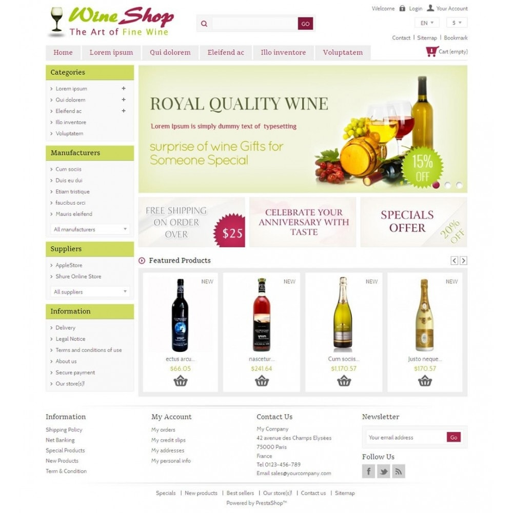 theme - Drank & Tabak - Red Wine Shop - 2