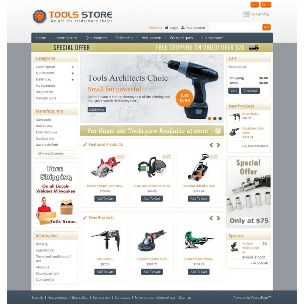 theme - Casa & Jardins - Tools Shop - 2