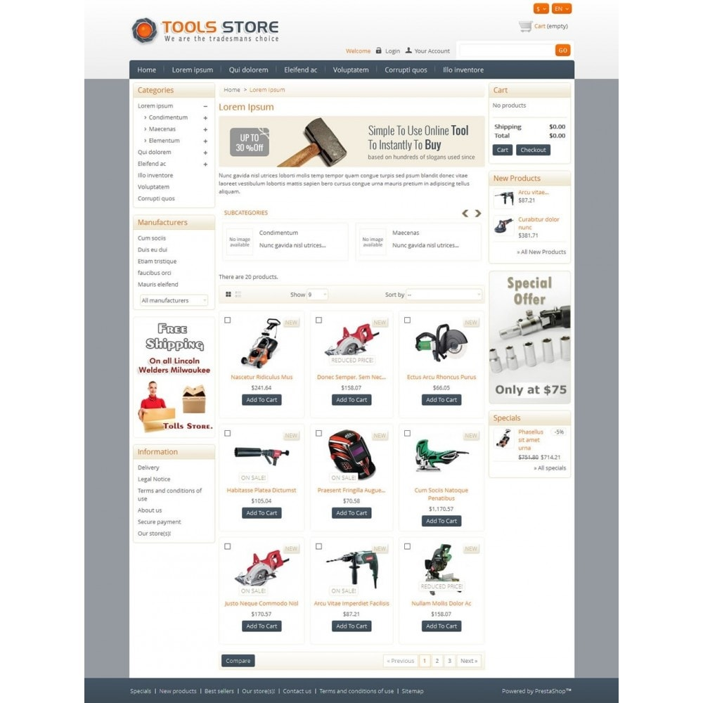 theme - Casa & Jardins - Tools Shop - 3
