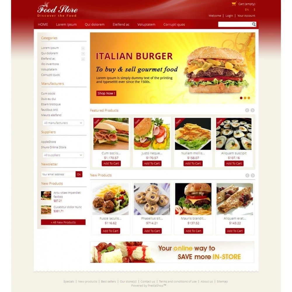 theme - Alimentos & Restaurantes - Fresh Food Store - 2