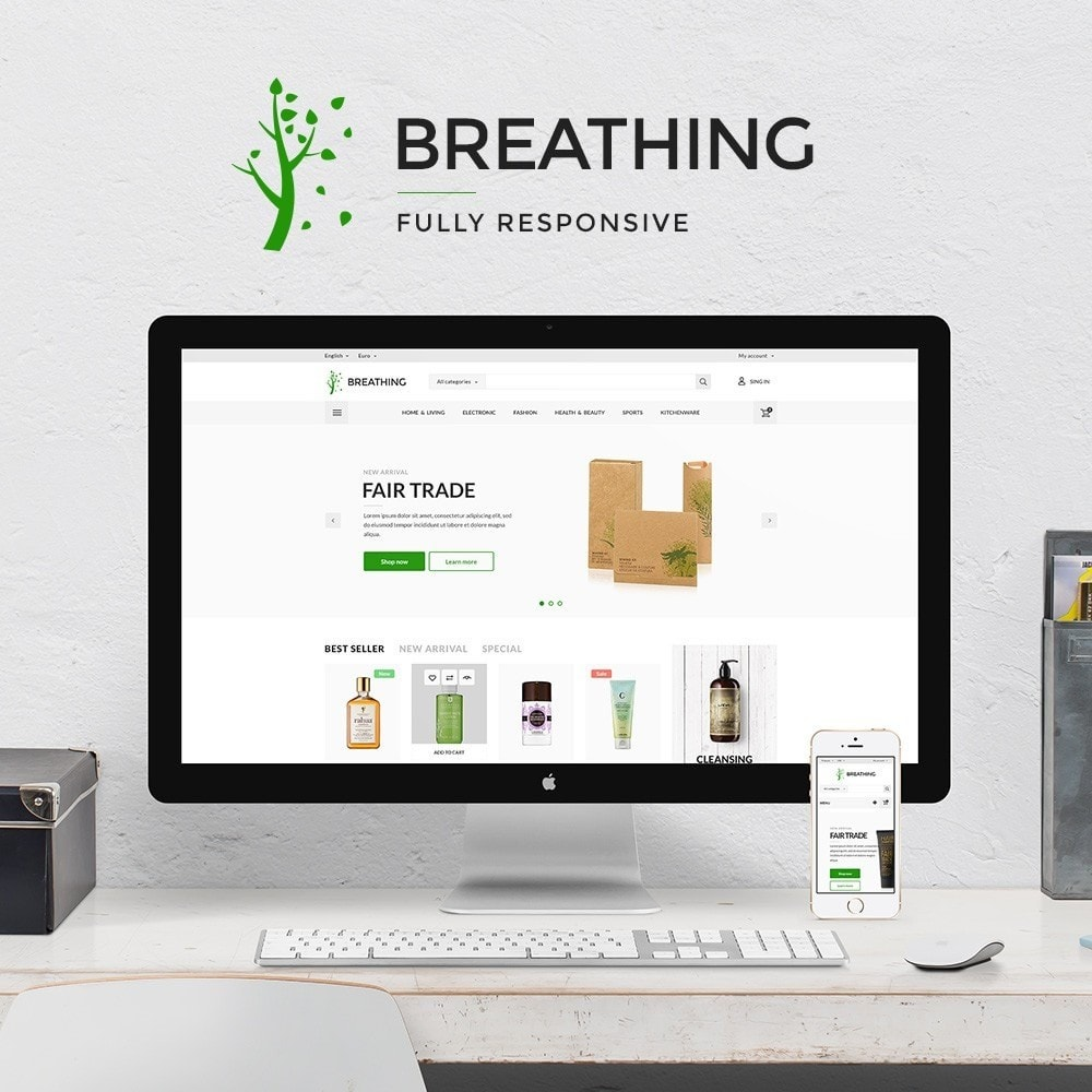 theme - Salute & Bellezza - Breathing Cosmetics - 1