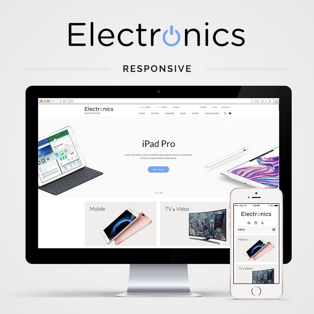 Electronics High-tech Shop