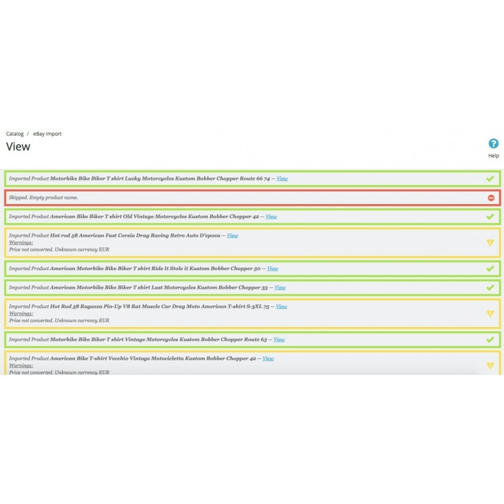 module - Platforma handlowa (marketplace) - PrestaBay eBay Import - Import eBay Listings - 3