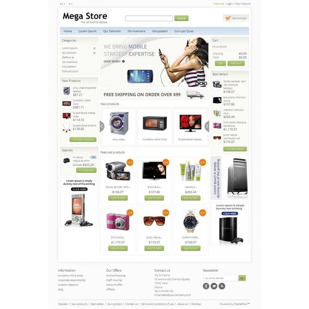Blue Mega Store