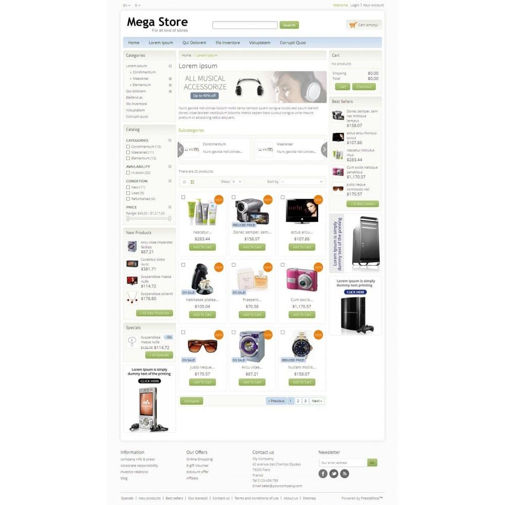 theme - Electrónica e High Tech - Blue Mega Store - 3