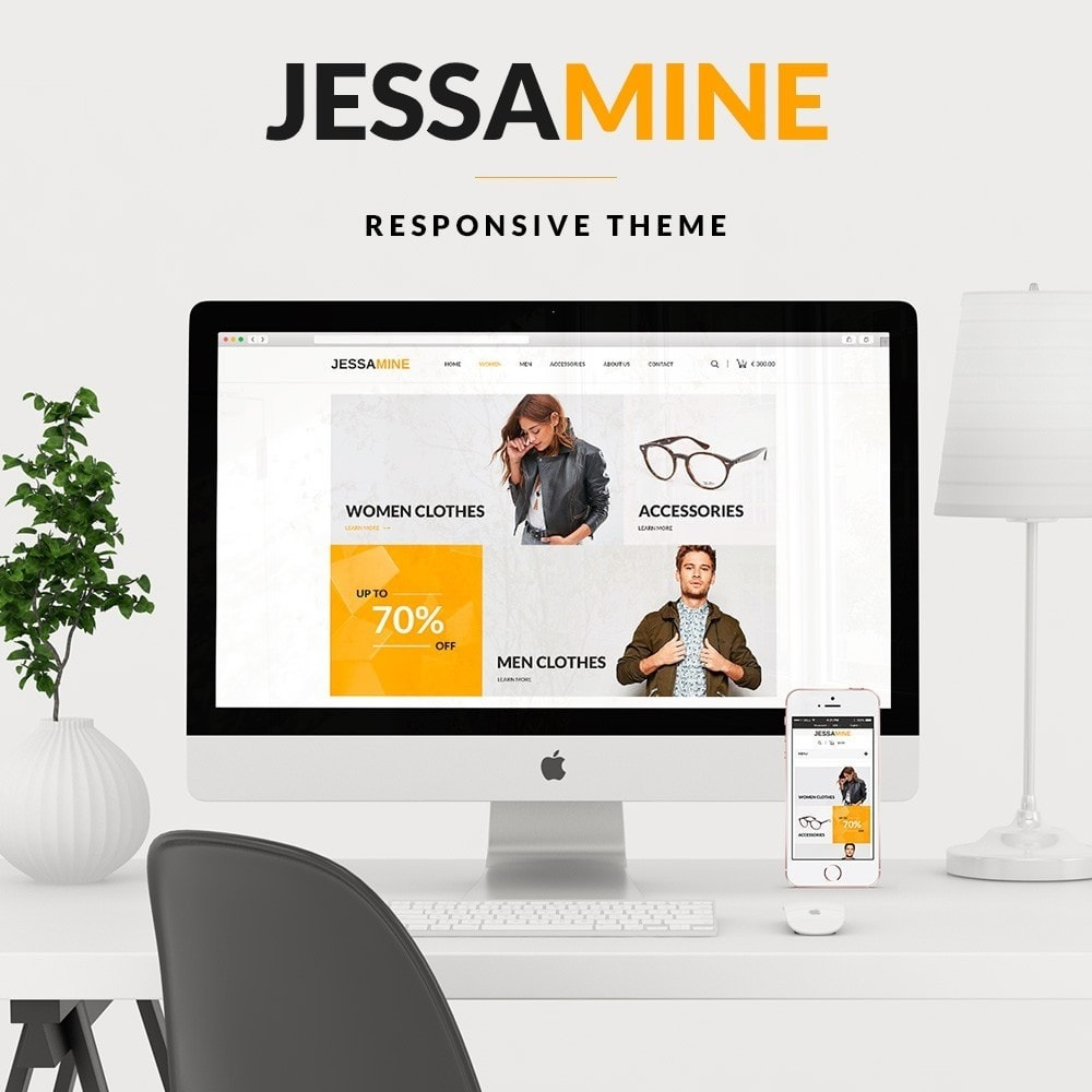 theme - Mode & Schuhe - Jessamine Fashion Store - 1