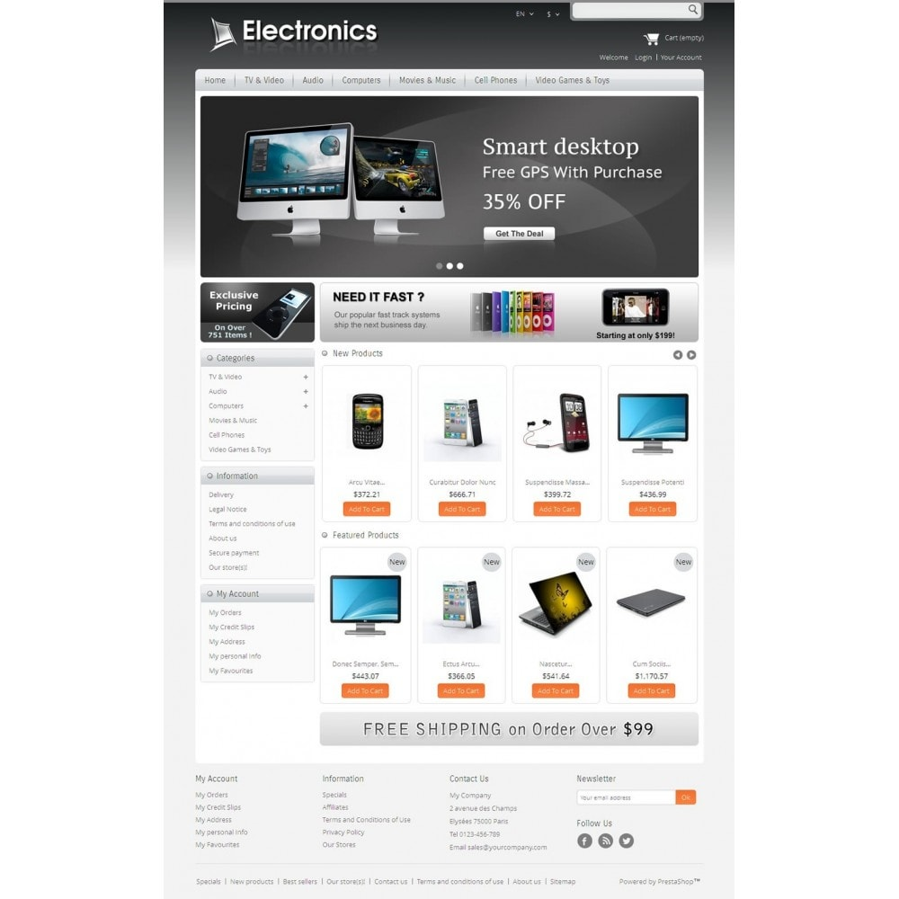 theme - Elektronica & High Tech - Electronics Mega Store - 2