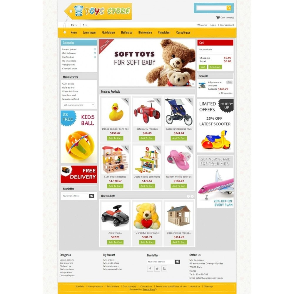 theme - Kids & Toys - Mini Toys Store - 2