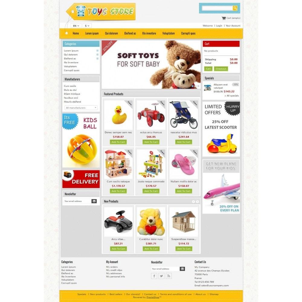 theme - Crianças & Brinquedos - Mini Toys Store - 2