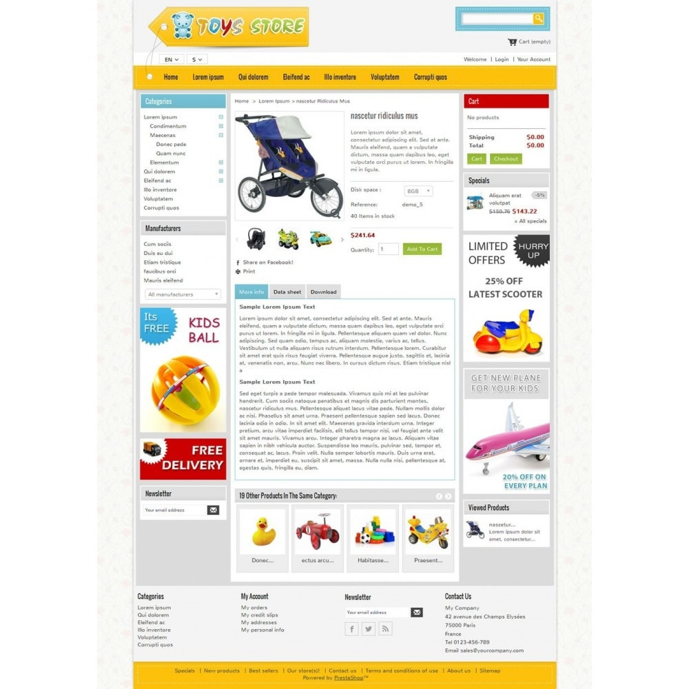 theme - Enfants & Jouets - Mini Toys Store - 4