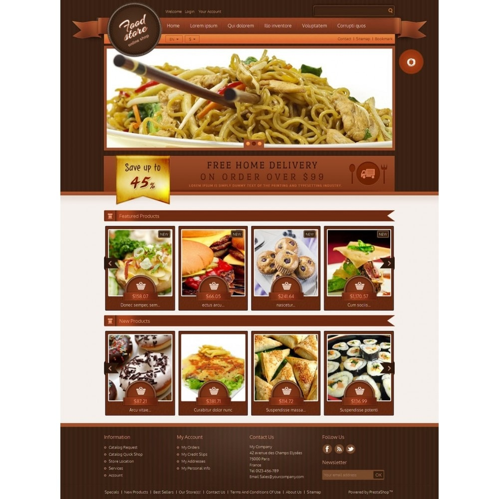 theme - Eten & Restaurant - Best Foods - 2