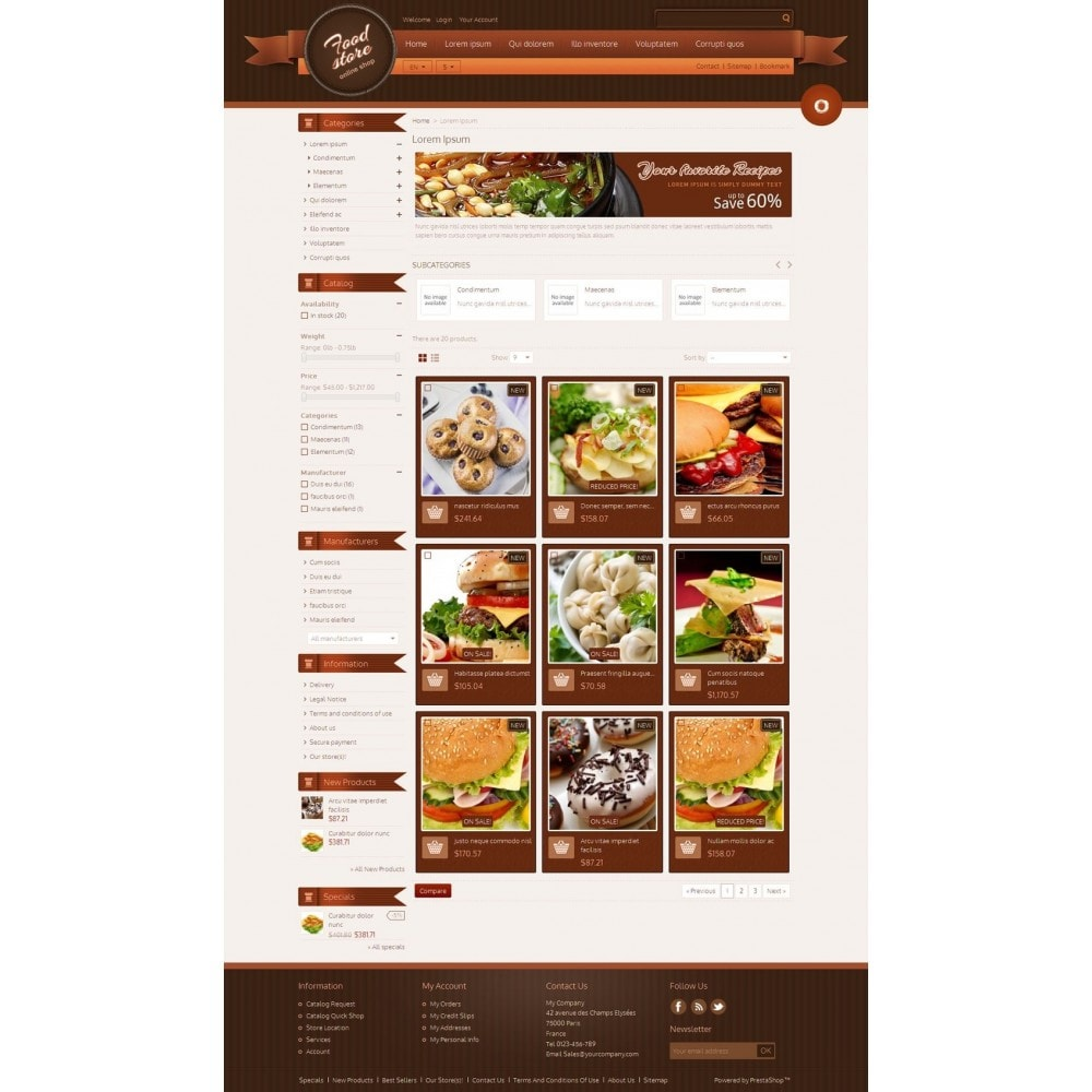 theme - Lebensmittel & Restaurants - Best Foods - 3