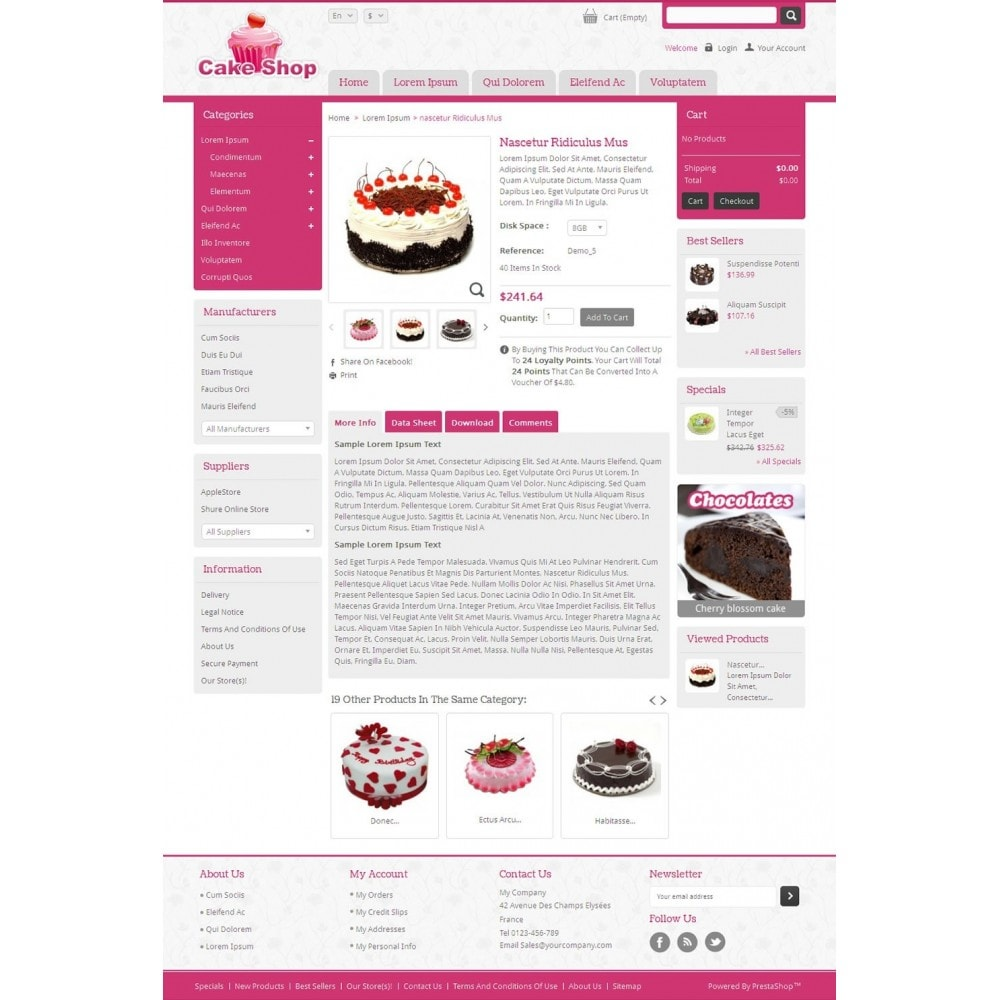 theme - Lebensmittel & Restaurants - Cake Shop - 4