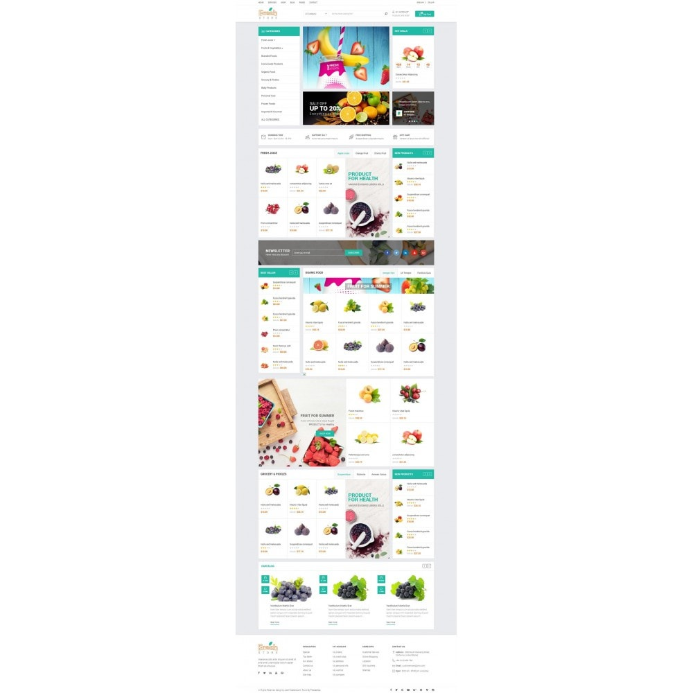 theme - Lebensmittel & Restaurants - JMS Fresh - 5