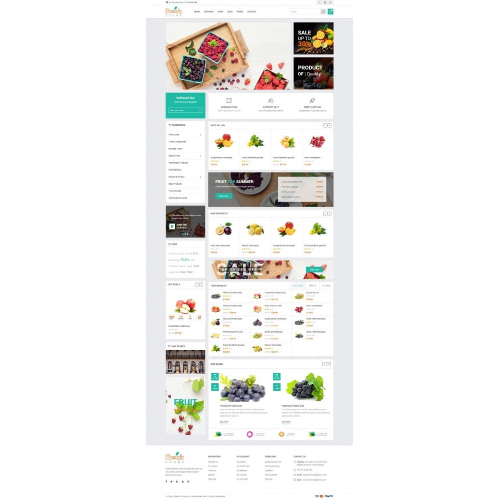 theme - Lebensmittel & Restaurants - JMS Fresh - 6