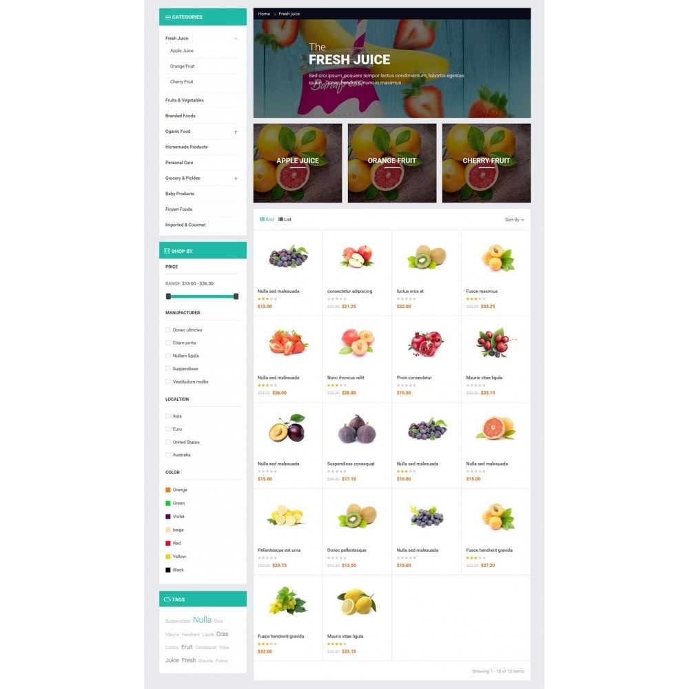 theme - Lebensmittel & Restaurants - JMS Fresh - 7