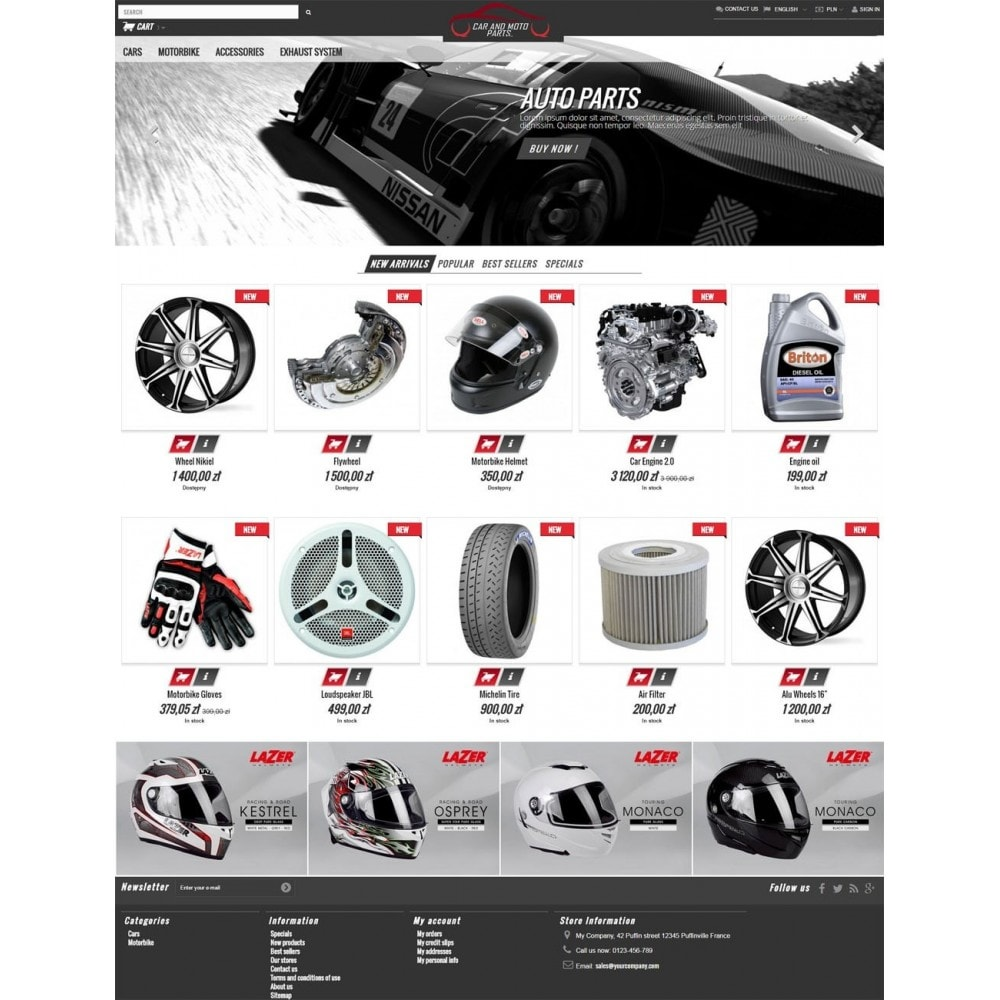 Car and Moto Parts