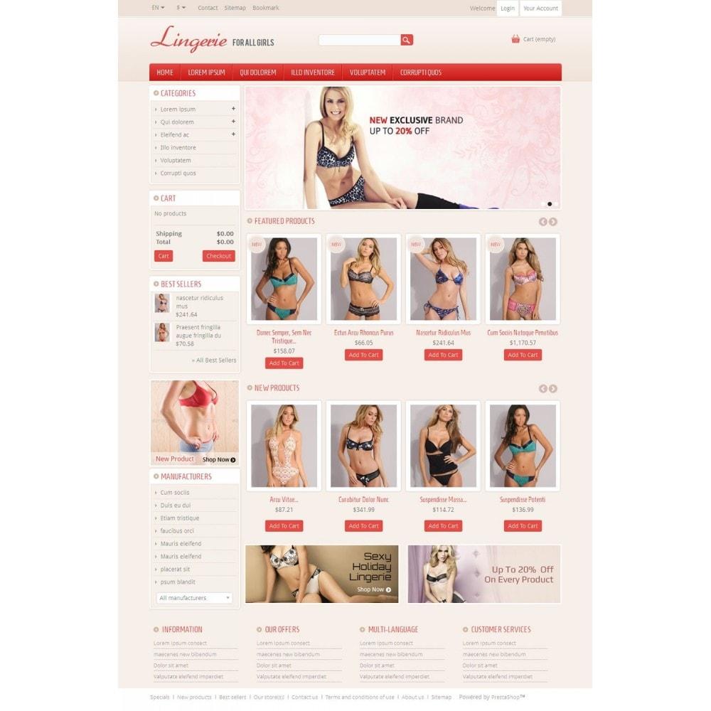 Lingerie Online Store