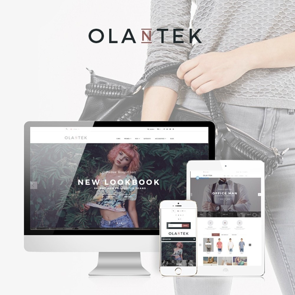 theme - Fashion & Shoes - Olantek Fashion & Shoes - 1