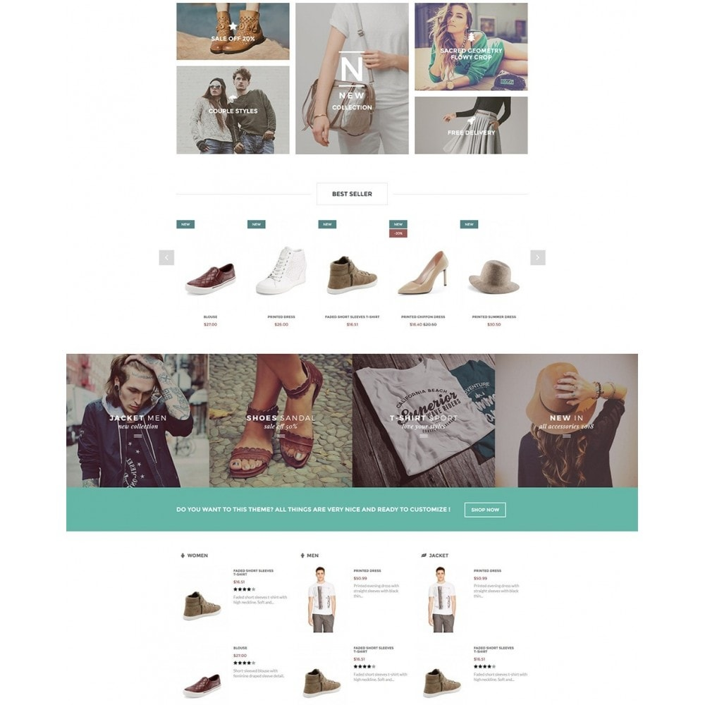 theme - Мода и обувь - Olantek Fashion & Shoes - 3
