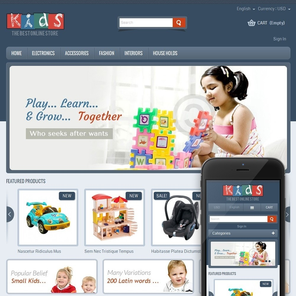 Kids - The Best Online Store