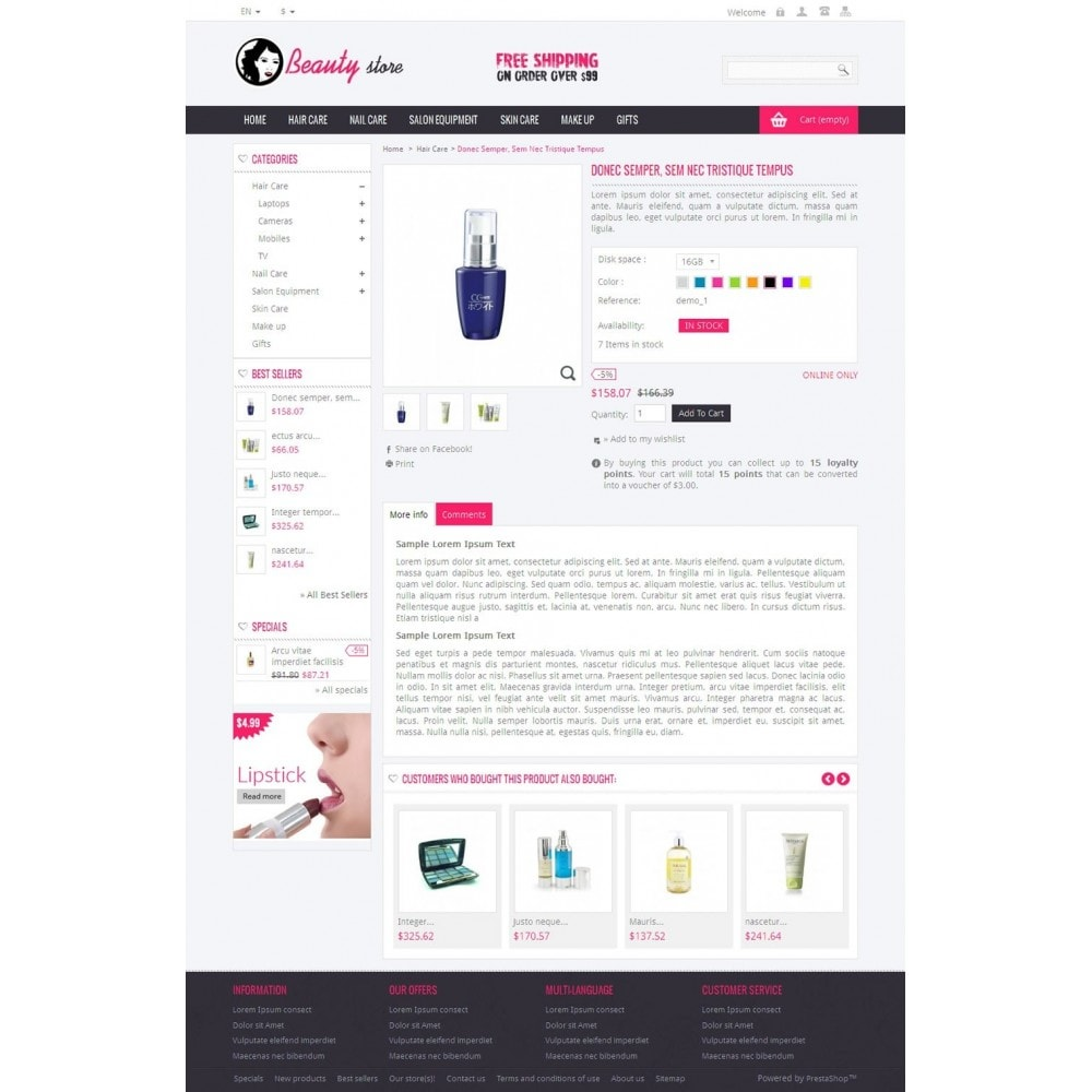 theme - Salute & Bellezza - Online Beauty Store - 4