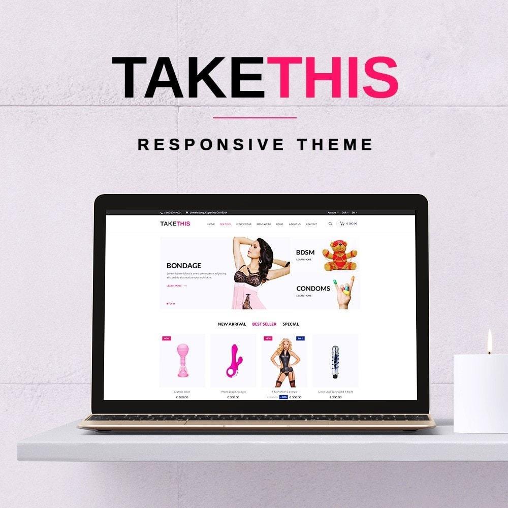 theme - Bielizna & Dorośli - TakeThis SexShop - 1