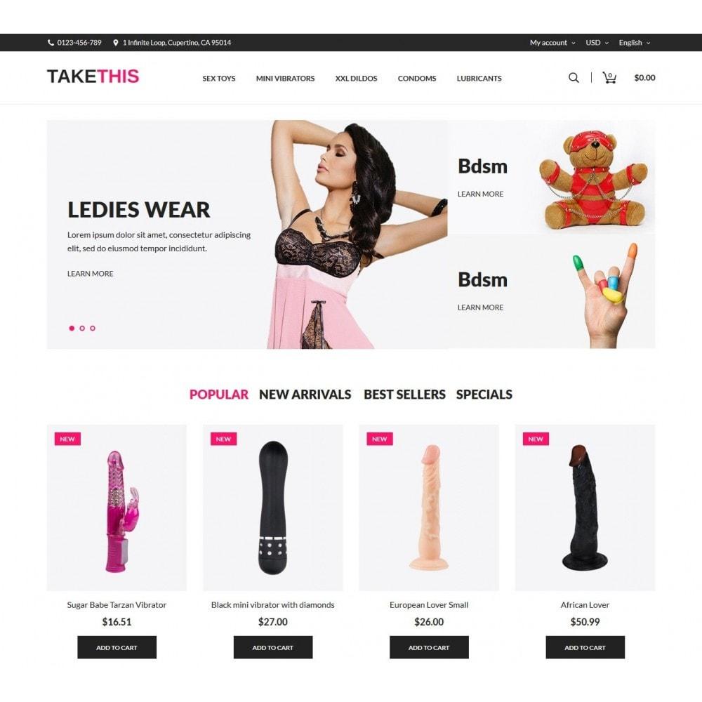 theme - Lingerie & Adultos - TakeThis SexShop - 2