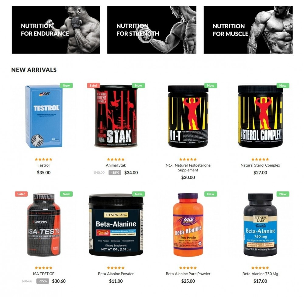 Serious Sam - Sport & Fitnes Store