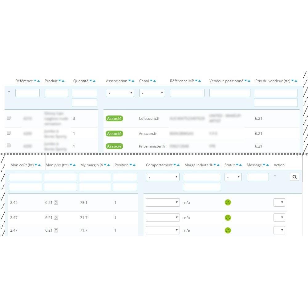 module - Places de marché (marketplaces) - Smart Price - Ajustement Automatique de Prix - 2