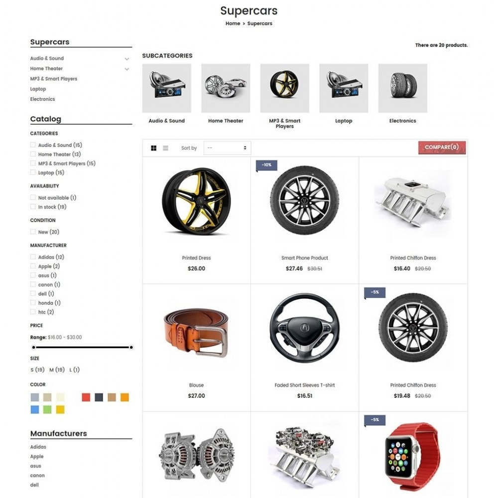 theme - Auto's & Motoren - Water Automotive & Cars - 5