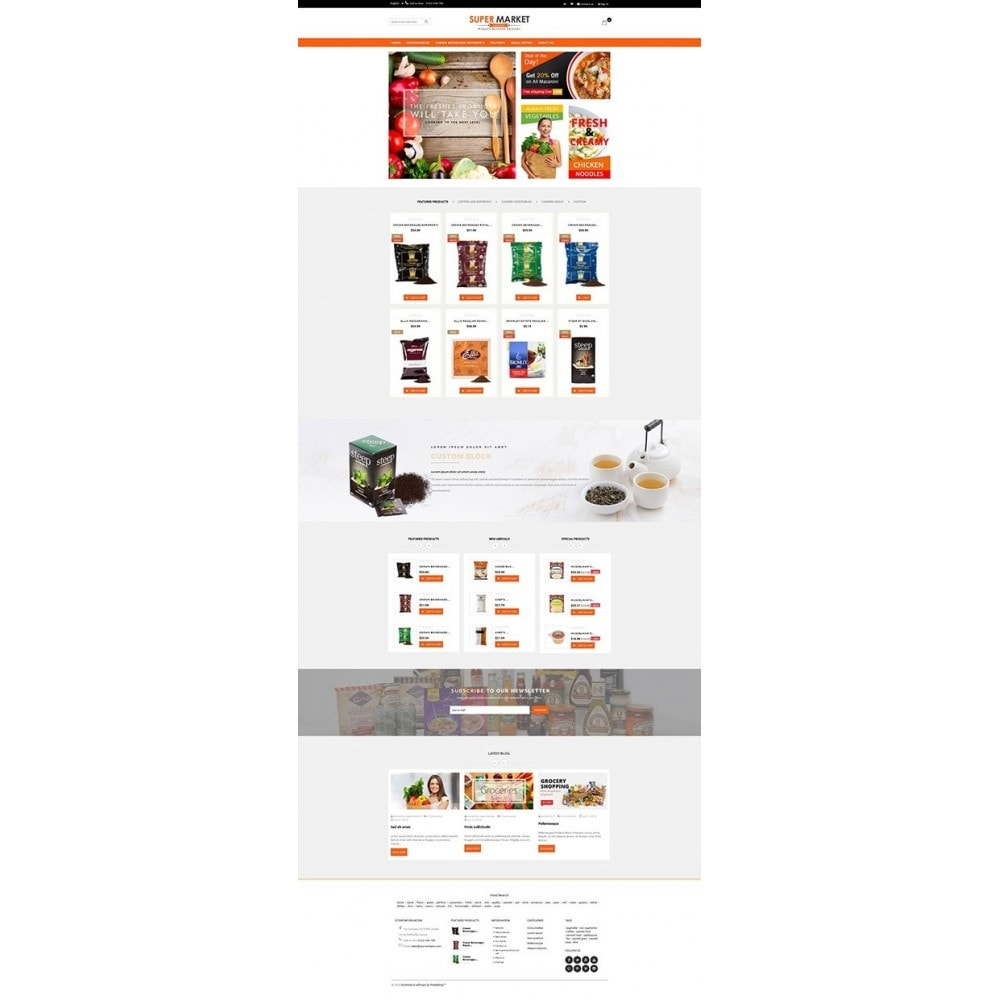 theme - Alimentation & Restauration - Supermarket Grocery Shop - 5