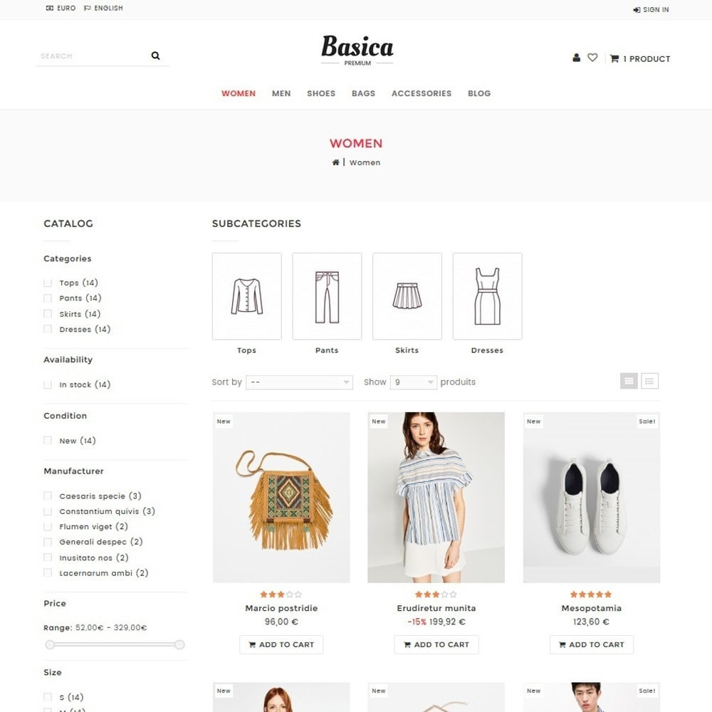 theme - Fashion & Shoes - Basica - 2