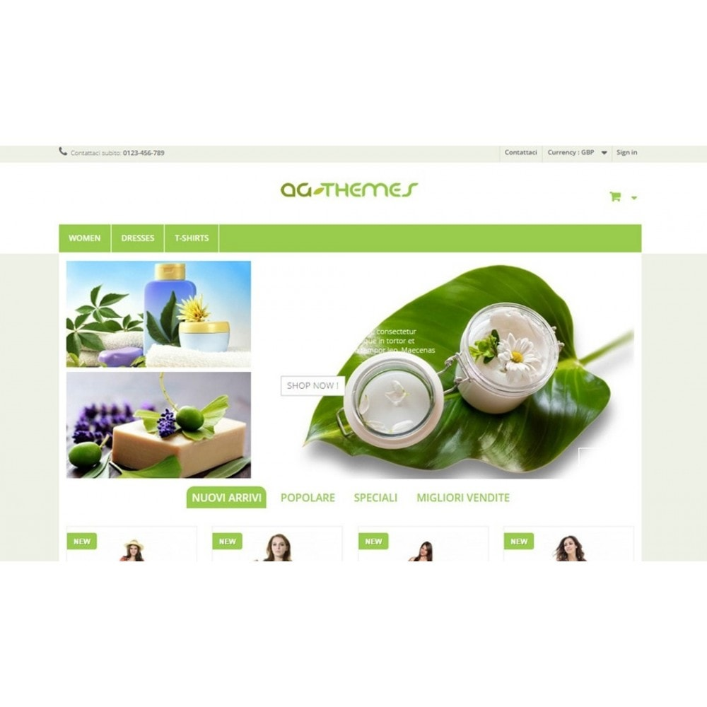 theme - Health & Beauty - AG Green - 2