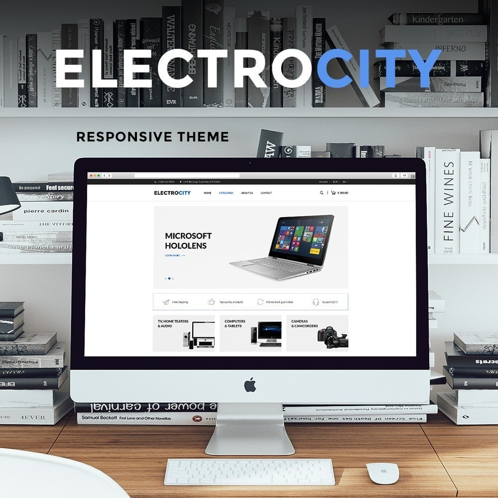 theme - Electronique & High Tech - ElectroCity Store - 1