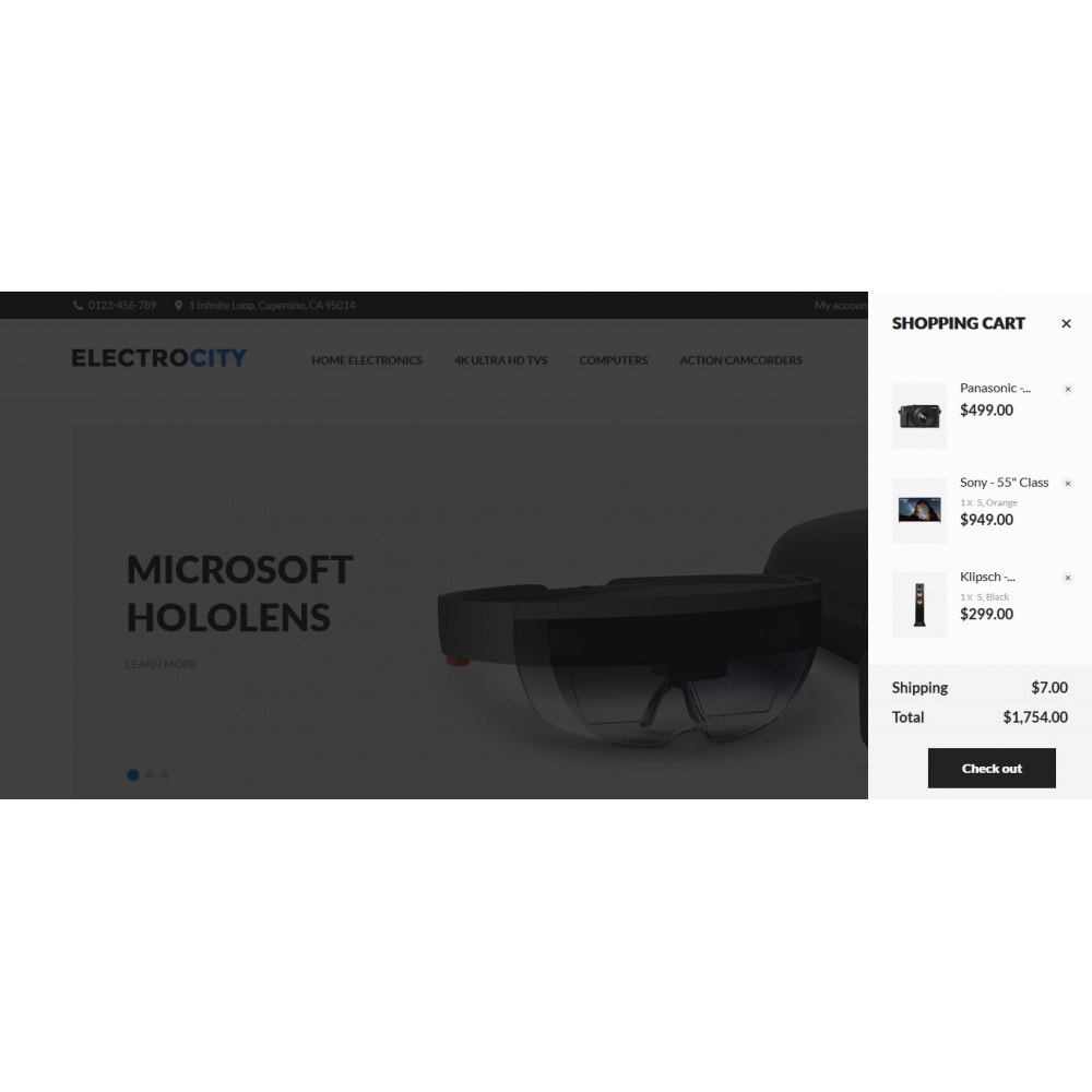 theme - Elettronica & High Tech - ElectroCity Store - 4