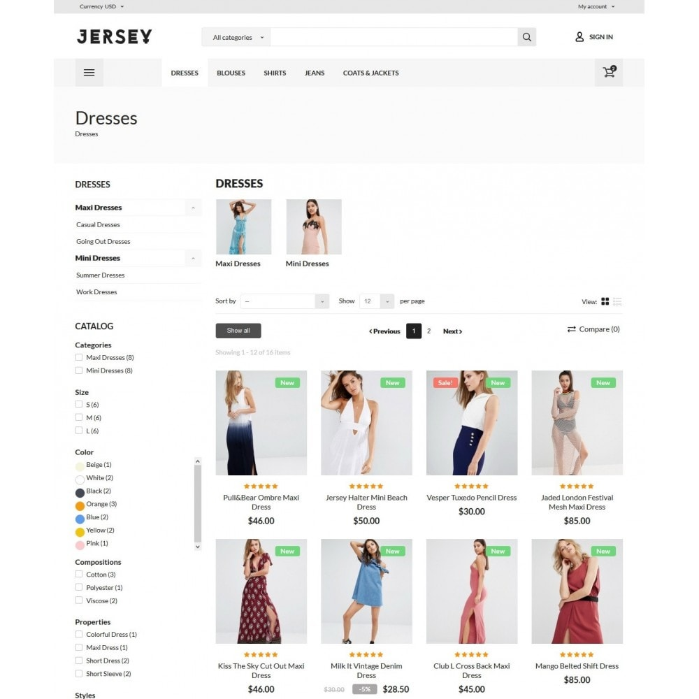 theme - Mode & Chaussures - Jersey Fashion Store - 6